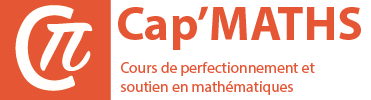 Cours particuliers de maths - Stages intensifs de maths - Niveaux Collège, Lycée, Maths Sup PCSI PTSI MPSI, Maths Spé PC PT MP, ECE, ECS, ECT, BCPST, Université, BTS - Paris, Lyon, Toulouse, Bordeaux, Lille